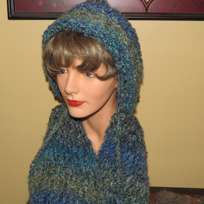 Pixie Hat and infinity scarf